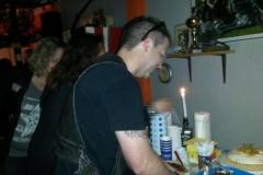 Geburtstagsparty Lobo und Tom